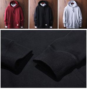 2017 Bulk 100% Cotton Men′s Custom Hoodies Men (OEM) pictures & photos
