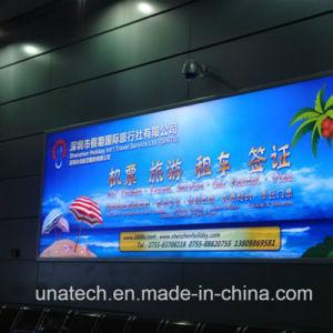 Outdoor Indoor Train Advertising Media Wall Display Backlit Film Aluminium LED Light Box pictures & photos