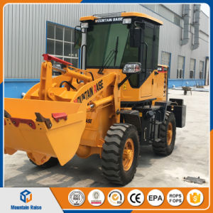China Manufacture 1ton Mini Wheel Loader with Lowest Price pictures & photos