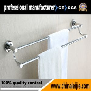 Fashion Classic Stainlesss Steel 304 Double Towel Bar pictures & photos