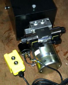 AC 380V Hydraulic Power Unit for Dock Leveler pictures & photos
