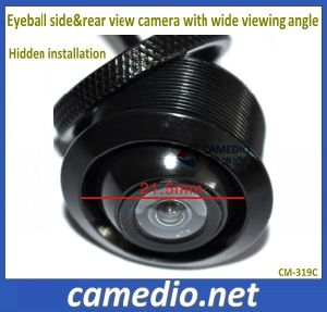 High Resolution Waterproof Eyeball Mini Universal Car Rear&Side View Camera with Super Wide Viewing Angle pictures & photos