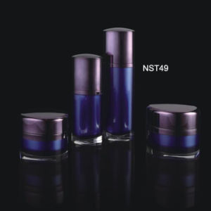 High Quality Acrylic Cream Cosmetic Bottles and Jars (NST49) pictures & photos
