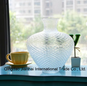Beauty Colourful Glass Vase for Flower and Creative Home Decoration Craft pictures & photos