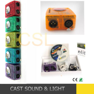 USB Sunlite DMX Control Sunlite DMX Software (CSL-308) pictures & photos
