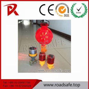 Emergency Solar LED Warning Traffic Cone Lamp/Traffic Cone pictures & photos