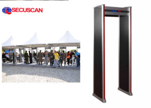 Passenger Weapon Detection Screening Door for Museum, Public Events, Night Clubs pictures & photos