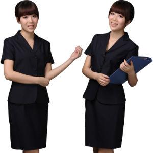 Custom Hotel Uniform, Manager Uniforms (LA-BS33) pictures & photos