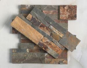 18*35cm Rusty Quartzite Flat Culture Stone pictures & photos