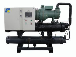 40HP to 200HP Water Cooled Screw Type Chiller pictures & photos