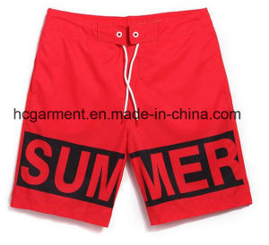 The Letter Printing Beach Shorts for Man. 4 Way Fabric Board Shorts pictures & photos