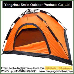 Waterproof Polyester The Cheapest 4 Season Backpacking Folding Tent pictures & photos