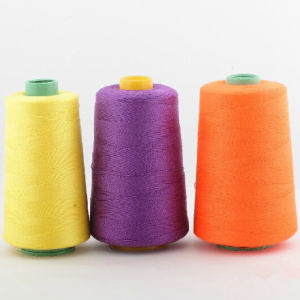 40s/3 100% Spun Polyester Sewing Thread pictures & photos