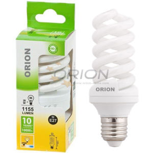 Eco T3, T4 9W, 11W, 15W, 20W, 25W, 30W Full Spiral Energy Saving Light Bulb pictures & photos