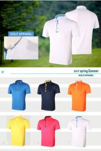 Brand New Men′s Short Sleeve Shirt Polo T Shirt Summer Quick Dry Breathable Golf T Shirt pictures & photos