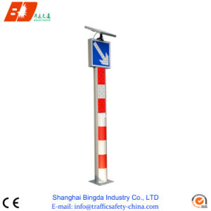 Solar Powered LED Warning Post Bollards pictures & photos