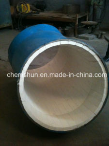 Abraion Resistant Ceramic Lined Pipe and Tubes pictures & photos