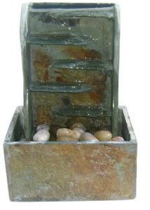 Indoor Real Stone Tabletop Water Fountain pictures & photos