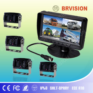 7 Inch DVR Recroding Quad Split Monitor Camera System pictures & photos