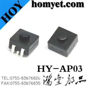High Quality Tact Switch/Micro Switch with 3pin Round Handle (HY-AP03) pictures & photos