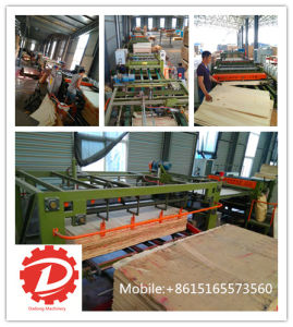 Full Automatic Servo Core Veneer Composer Machine pictures & photos