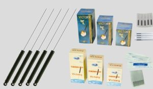 Acupuncture Needles with Conductive Plastic Handle Needle pictures & photos