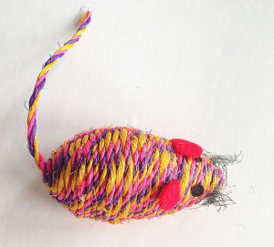 Pet Product Sisal Mouse Pet Toys pictures & photos
