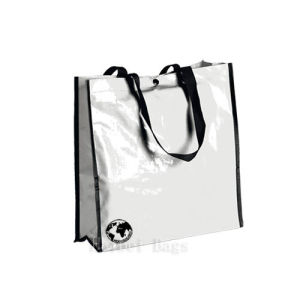 Glossy Laminated Biodegradable Bags with Snap-Fastener (hbnb-525) pictures & photos