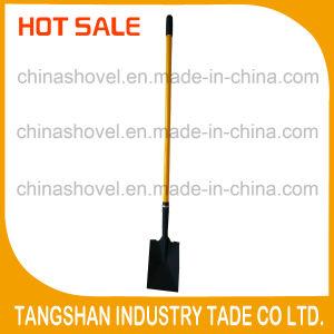 Long Fiberglass Handle Carbon Steel Shovel pictures & photos
