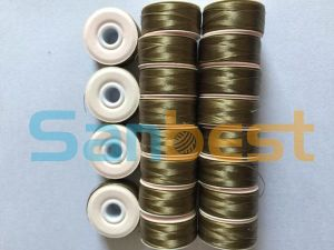 High Quality Cardboard Sided Bonded Nylon Pre-Wound Bobbins Thread pictures & photos