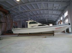 32FT Fiberglass Panga Fishing Boat/Work Boat with Cabin pictures & photos