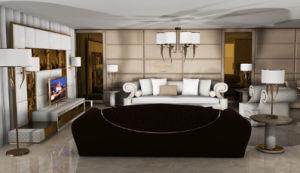 Italian Design Luxury Living Room Leather Sofa Set pictures & photos
