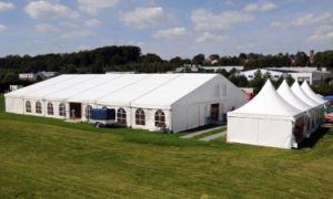 Large Classic Decorated Outdoor Events Marquee Tent for Over 350 People pictures & photos