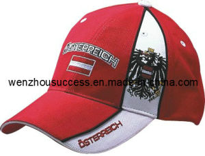 Baseball Cap Nations (SS08-1B018) pictures & photos