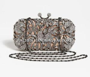 Women Clutch Handbags with Crystal Decoration (C2003)