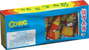 """3"""" Conic (T1515) Consumer Fireworks"""