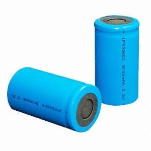 3.2V 3500mAh Rechargeable Cylindrical LiFePO4 Batteries pictures & photos