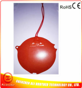 24V 37.5W Diameter 124*1.5mm Coffee Machine Heater Silicone Rubber Heater