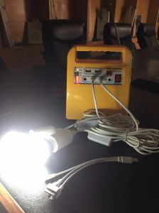 Mini off Grid Solar Power System with Mobile Power Bank pictures & photos