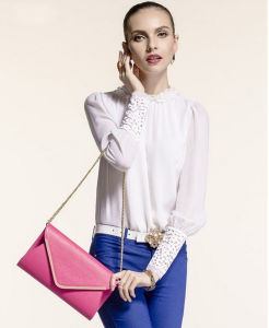 Summer Latest Fashion Wholesale Envelope Dinner Party Single Shoulder Lady′s Bag pictures & photos
