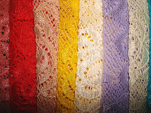 Lace Knitting Fabric pictures & photos