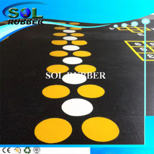 Speical Design High Density Roll Gym Rubber Flooring pictures & photos