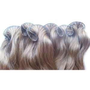 100% Indian Remy Human Hand Tied Hair Weft Extension
