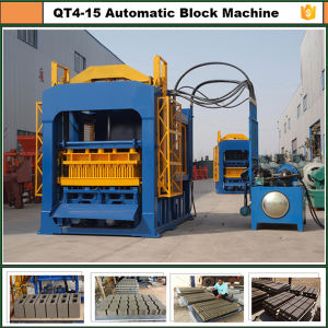 Qt4-15c Dongyue Automatic Concrete Brick Making Machine and Building Brick Molding Machine pictures & photos
