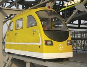 New Design Yellow Color Electric Trail Car pictures & photos