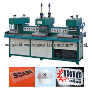 Silicone Label on Garment Making Machine pictures & photos