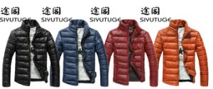 Mens Down Lightweight Winter Fashion Padding Jacket pictures & photos