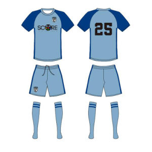 Custom Design Sublimated Soccer Kits for Teams pictures & photos