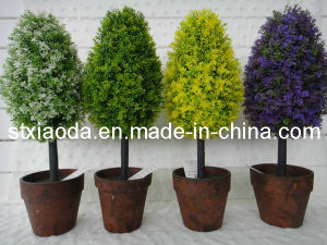 Artificail Plastic Tree Bonsai (XD13-278)
