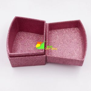 Pink UV Varnish Paper Gift Storage Box pictures & photos